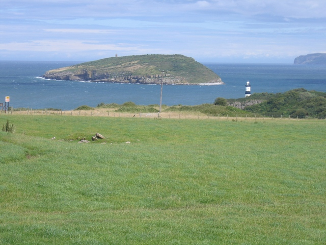 Pasture at Parc Dinmor and Puffin Island