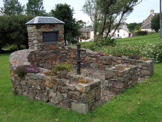 Old village pump, Bwlch-mawr