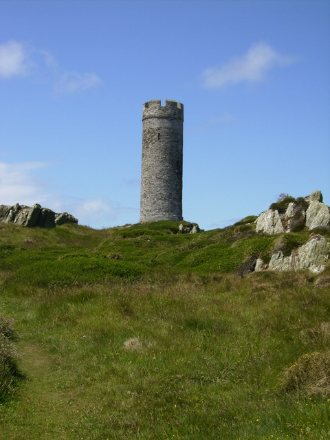 The Herring Tower on Langness Isle of Man