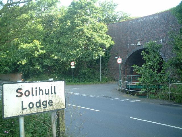 Aqueduct in Solihull Lodge