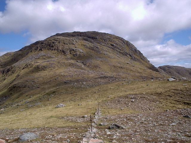 Sgurr a' Bhac Chaolais from the west