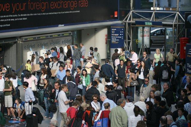 Eurostar Terminal, Waterloo Station