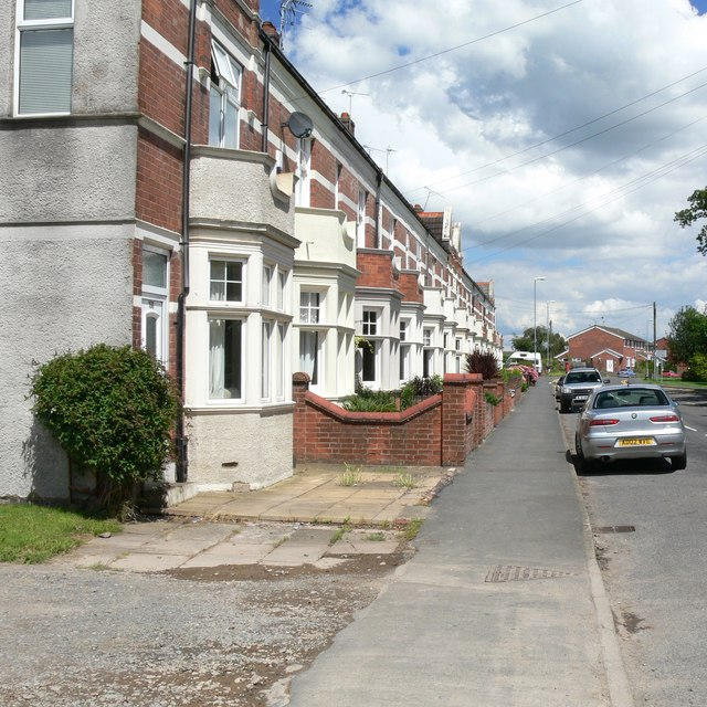 Victoria Terrace, Groby