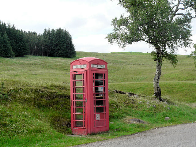 K6 telephone box