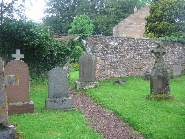 St Maurice Churchyard, Eglingham, Northumberland.