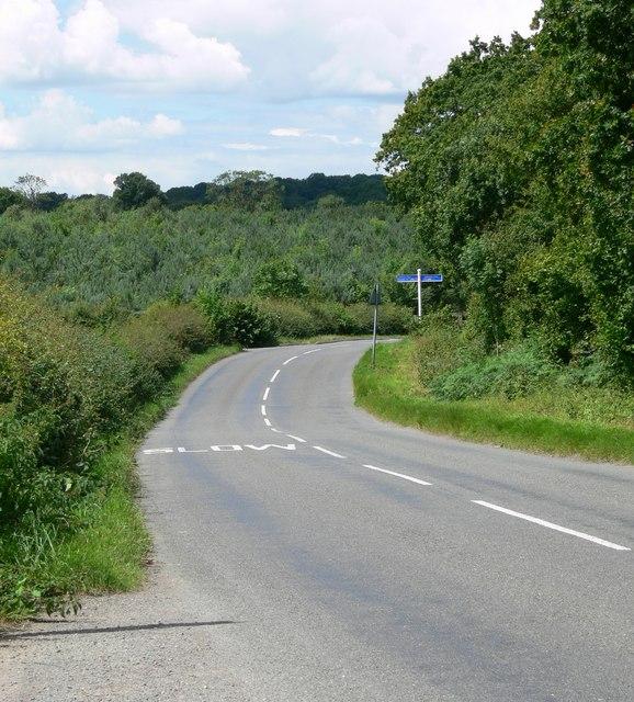Markfield Lane near Ratby