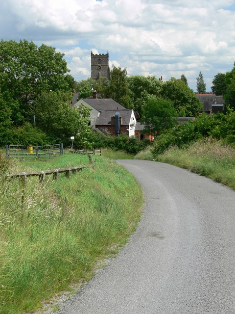Ratby from Burroughs Road