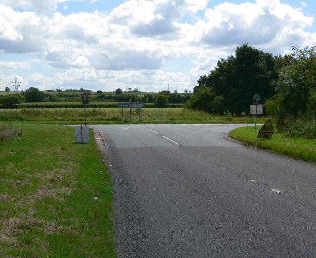 Desford Lane junction