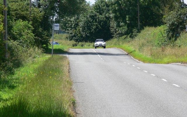 Desford Lane near Newtown Unthank