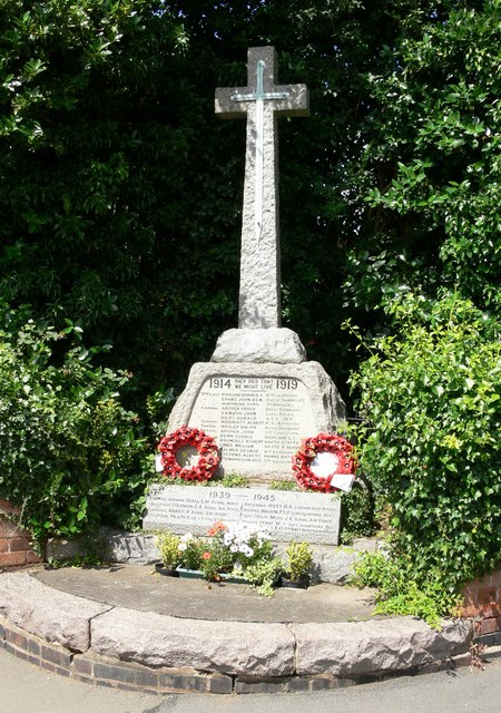 War Memorial, Desford