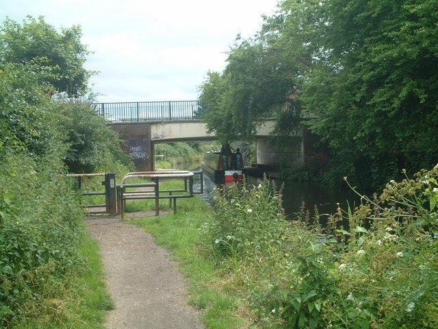 Canal bridge, High Street, Solihull Lodge