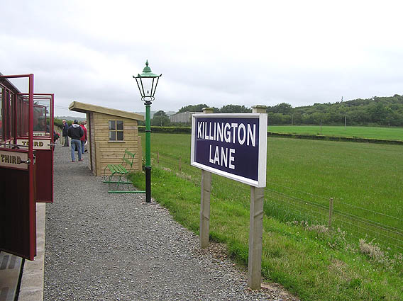Killington Lane station, Lynton and Barnstaple railway