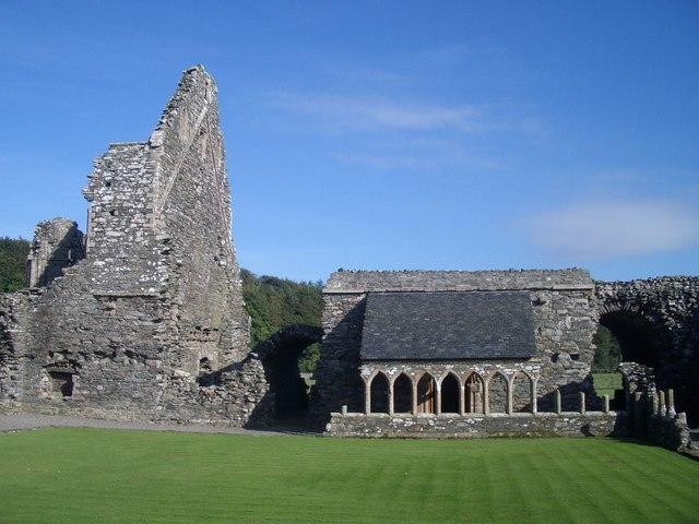 Glenluce Abbey (12c Cistercian)