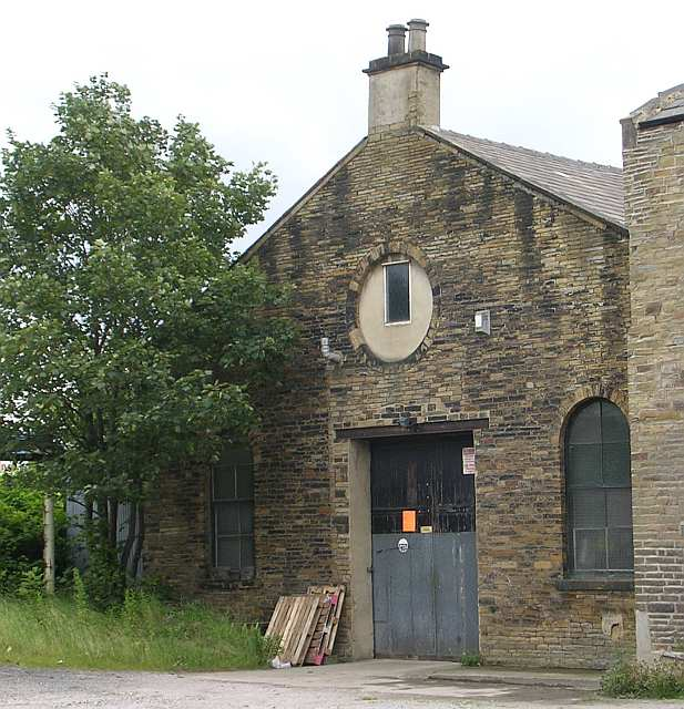 Back of Former Chapel on Wallis Street