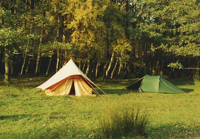 The campsite at Taagan
