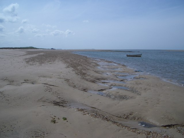 Brancaster Harbour Looking West