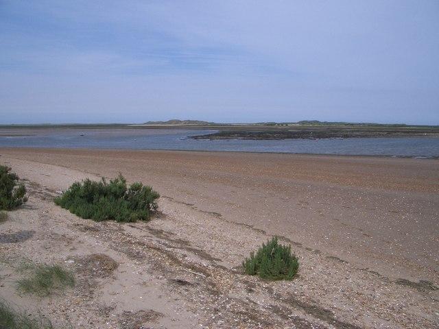 Brancaster Harbour Looking Towards Scolt Head Island
