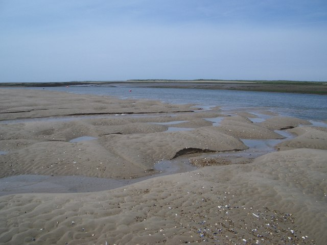 Brancaster Harbour Looking Northwest