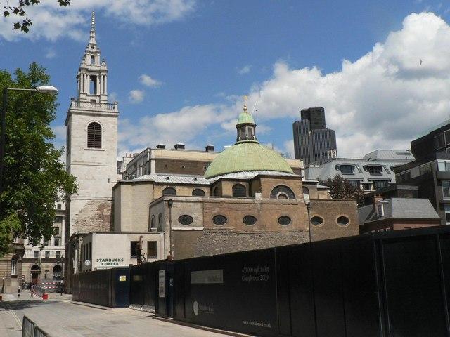 City parish churches: St. Stephen Walbrook