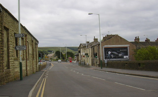 Blackburn Road Rising Bridge