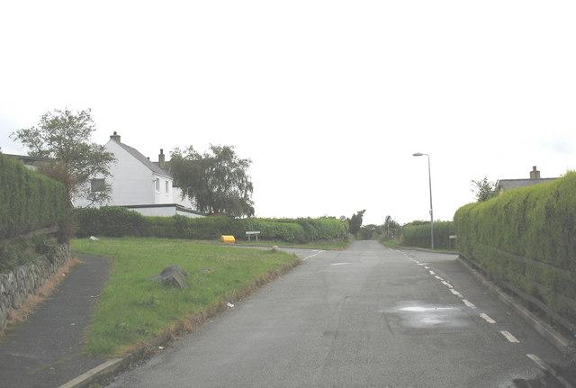 Crossroads on Lon Castell