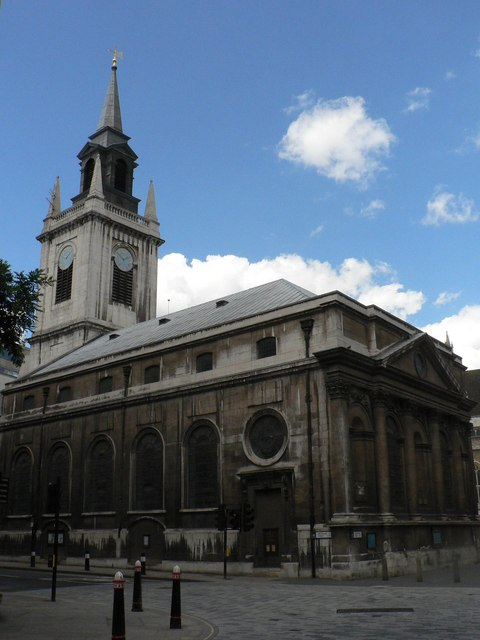 City parish churches: St. Lawrence Jewry