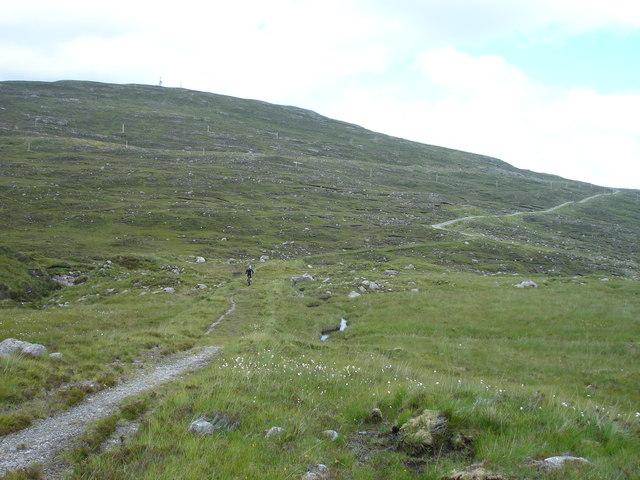 Path to Loch Maraig