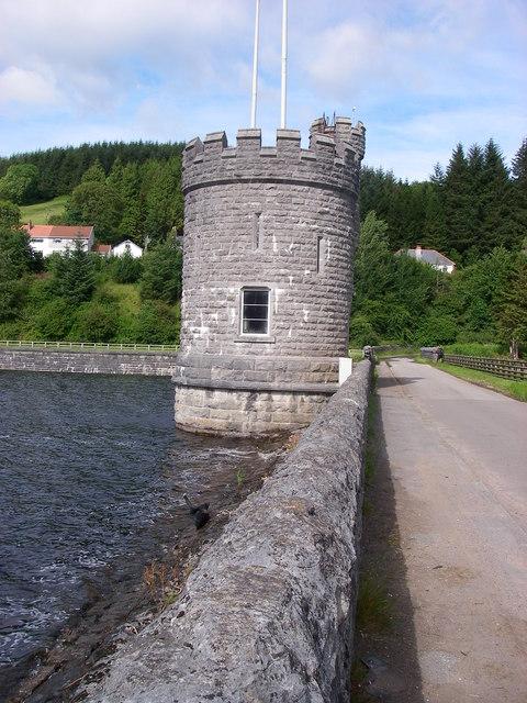 Valve Tower, Llwyn-on Reservoir