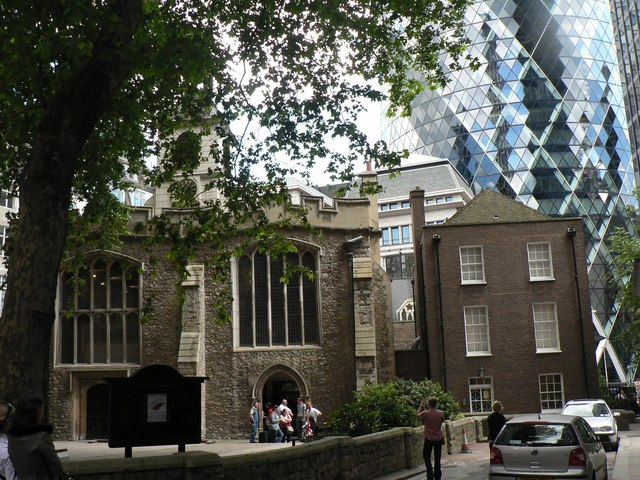 City parish churches: St. Helen Bishopsgate