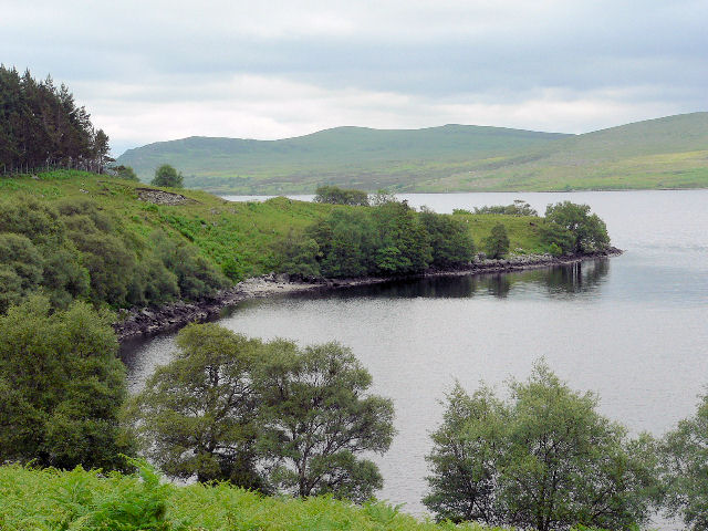 North shore of Loch Naver