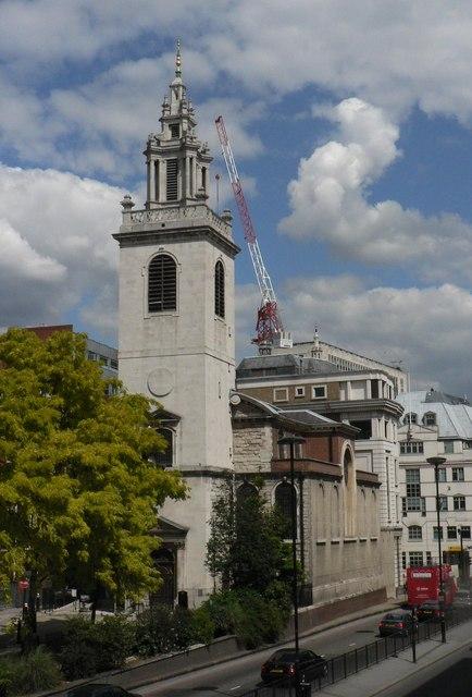 City parish churches: St. James Garlickhythe