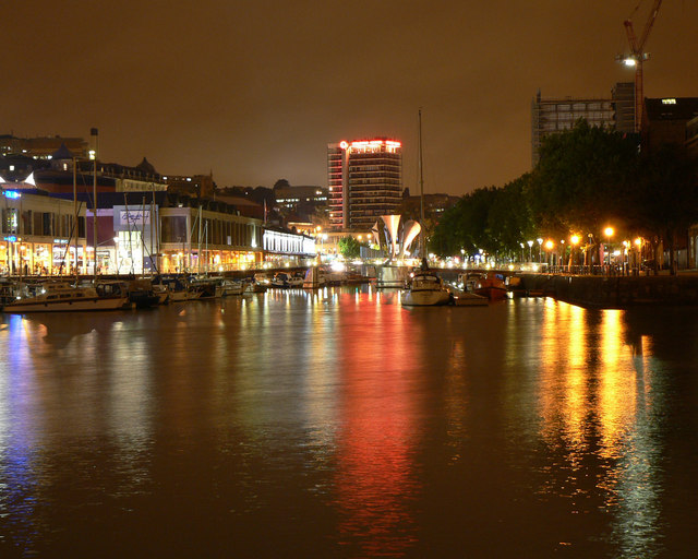 Floating Harbour and Bristol city centre