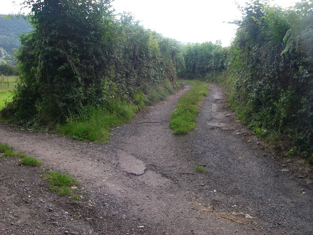 Minor road, Gilwern