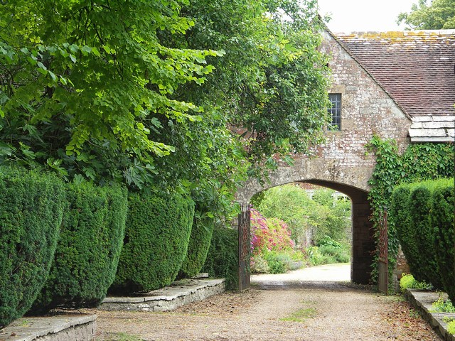 Arched Entrance to Waterston Manor