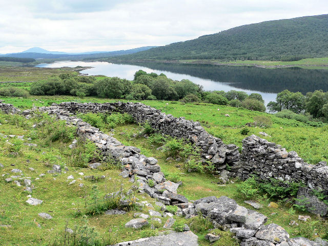Ancient burial site at Grumbeg