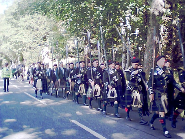 Tail of Lonach March to the Games