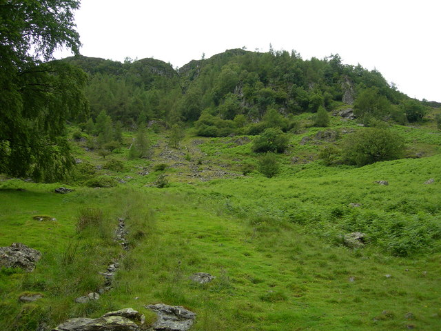 Looking Towards Black Crag