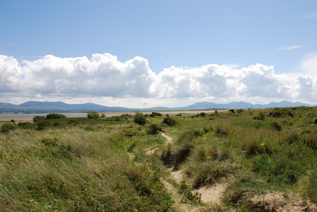 Footpath across Newborough Warren