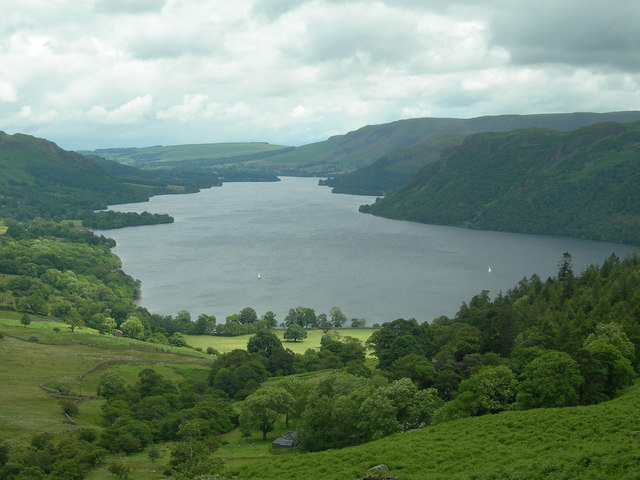 Ullswater seen from Glencoyne