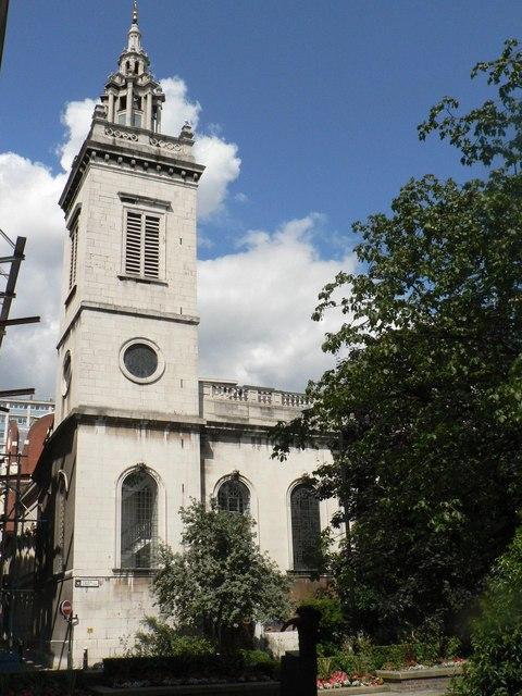 City parish churches: St. Michael (Paternoster) Royal