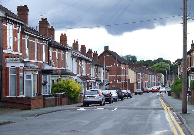 Merridale Street West, Wolverhampton