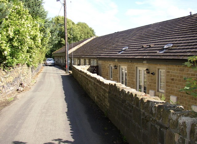 Houses, Sutcliffe Wood lane, Hove Edge, Brighouse