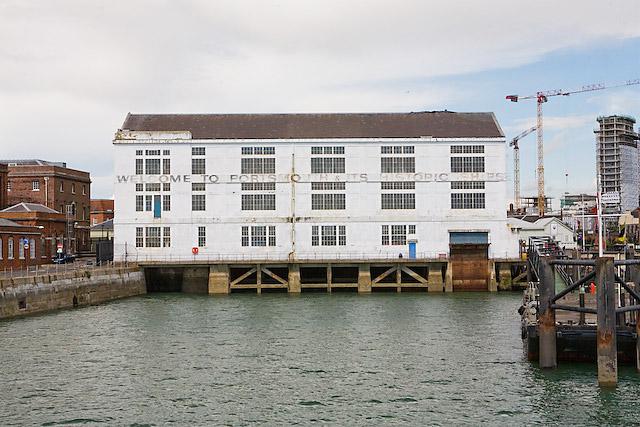 Boathouse number 4, Portsmouth Historic Dockyard