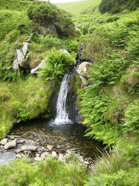 Waterfall in Glendoo