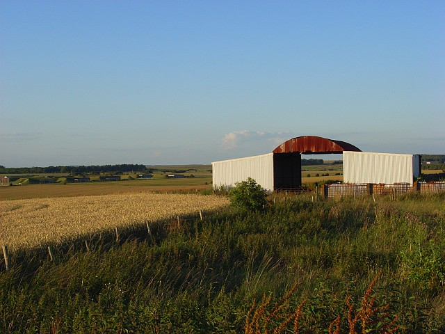 Barn near Stonehenge
