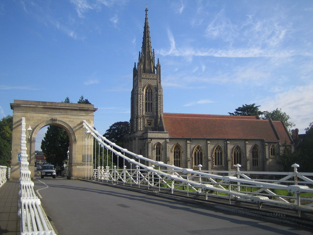 Marlow Suspension Bridge & All Saints Church