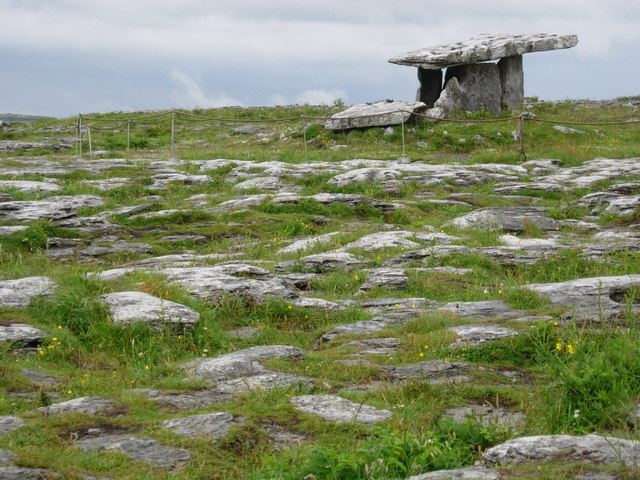 Poulnabrone Tomb and surrounding land