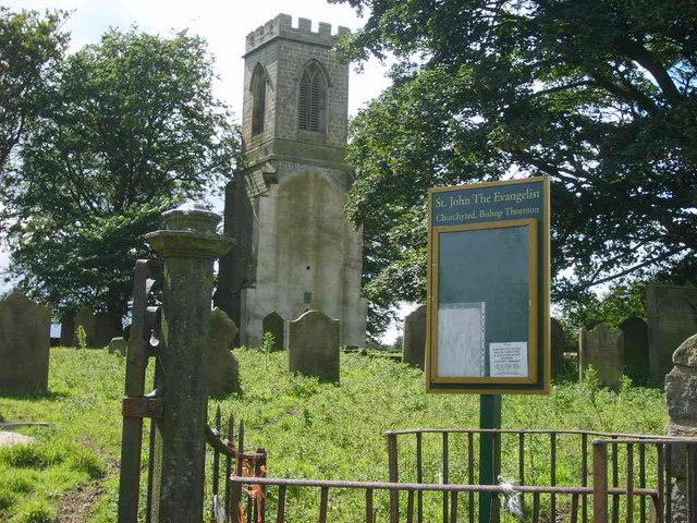 St John the Evangelist Churchyard, Bishop Thornton