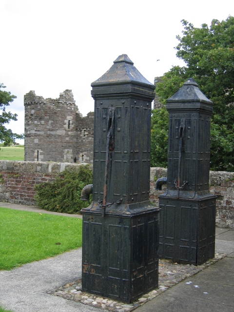 The Town Water Pumps and Beaumaris Castle