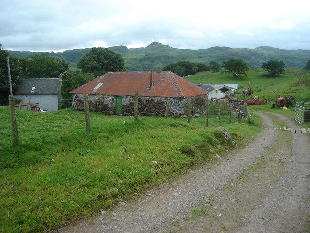 Ballygowan Farm from the north